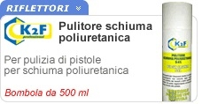 PULITORE SPRAY X SCHIUMA ML.500 -K2F-